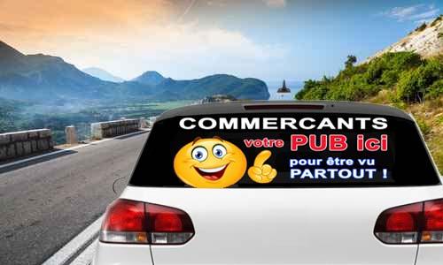 Illustration d'annonces sur des véhicules
