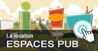 Illustration location espaces publicitaires